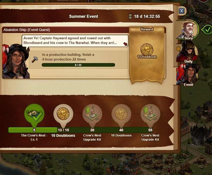 evento de verano forge of empires 2019