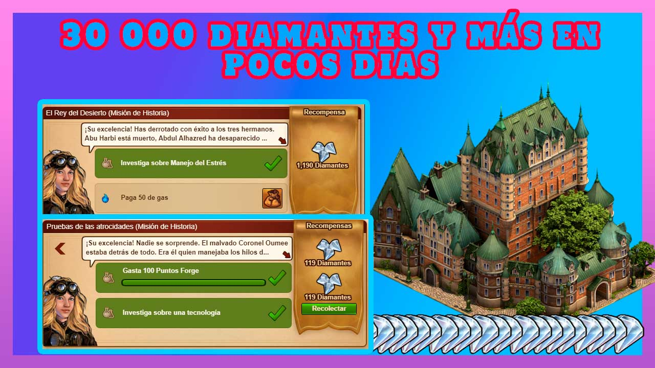 forge of empires diamantes gratis